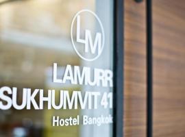 Lamurr Sukhumvit 41, hostel in Bangkok