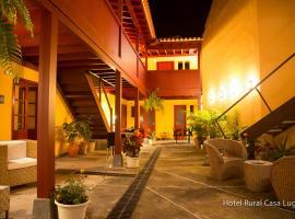 Hotel Rural Casa Lugo, hotel en Agulo