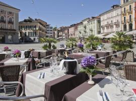 Hotel America, hotel in Locarno