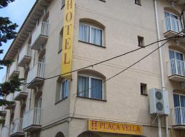 Plaça Vella, hotel a prop de Delta de l'Ebre, a Sant Carles de la Ràpita