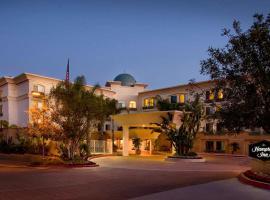 聖地亞哥/德爾馬漢普頓酒店,聖地牙哥的飯店