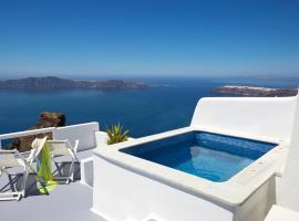 Whitedeck Santorini, hotel a Imerovigli