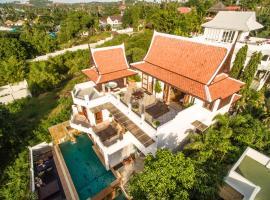 Samui Luxury Pool Villa Melitta, отель в городе Пляж Банг Рак, рядом находится Пирс Банграк