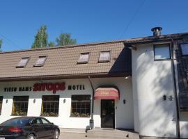 Naktsmītne pie ģimenes Strops Rīgā