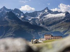 Riffelhaus 1853, hotel near Klein Matterhorn, Zermatt