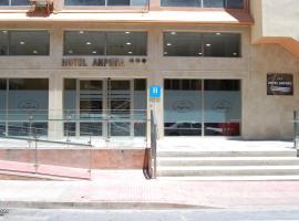 Hotel Anfora, отель в городе Мелилья