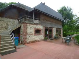La Ferme du Manoir Etretat, country house in Bordeaux-Saint-Clair