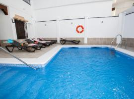 Hostal Boutique Bajamar, accessible hotel in Nerja