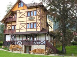 Penzión Villa Mon Ami, privát vo Vysokých Tatrách