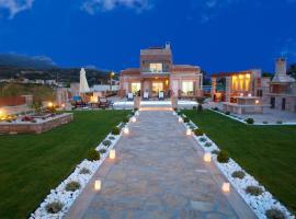 Blue Horizon Villa & Suites, family hotel in Sitia