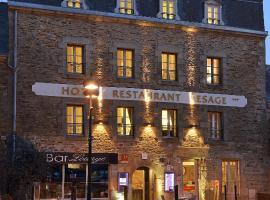 Hotel Restaurant Lesage, hôtel à Sarzeau