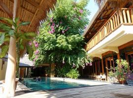 Gili Divers Hotel, отель в городе Гили-Траванган