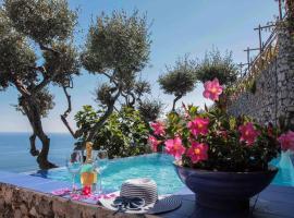 Villa Ponente, hotel with pools in Positano