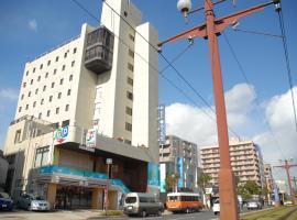 Hotel Kamoike Plaza, hotel in Kagoshima