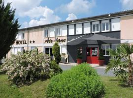 Hotel Air-lane, hotel near Nigloland, Saint-Léger-sous-Brienne