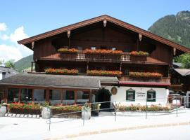 Gasthaus Jakober, Bed & Breakfast in Alpbach
