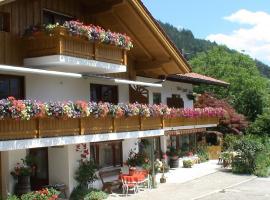 Gästehaus Amort, Pension in Ramsau bei Berchtesgaden
