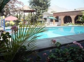 Cieneguilla MolinoVerde, hotel with pools in Cieneguilla