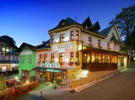 Hotel pizzeria Belmonte, hotel near Ruzova hora - Snezka, Špindlerův Mlýn