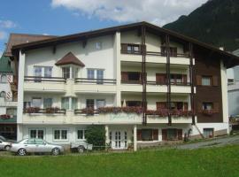 Gidis Hof, budget hotel in Ischgl