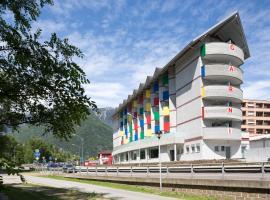 Hotel Liberty Self Check-In, hotel in Bellinzona
