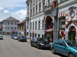 베네쇼프에 위치한 호텔 Hotel Posta