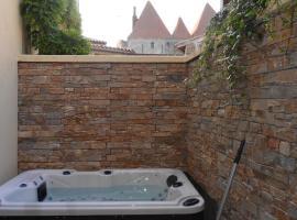 un gîte dans la cité, casa o chalet en Carcassonne