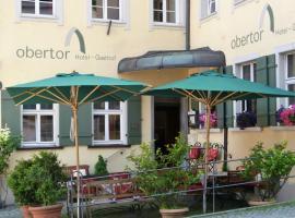 Hotel Obertor, Hotel in der Nähe von: OberschwabenHallen Ravensburg, Ravensburg