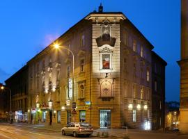 Hotel Golden City Garni, hotel in Prague
