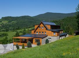 Hotel Havrania – hotel w pobliżu miejsca Wyciąg narciarski Białasówka w mieście Zázrivá