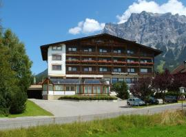 Hotel Feneberg, pet-friendly hotel in Ehrwald