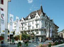 Hotel Victoria, hotel in Brig