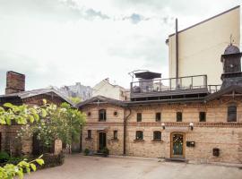 Amalienhof Hostel Riga, nakvynės namai Rygoje