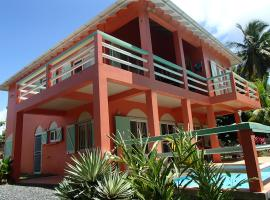 Pointe Dubique Bed and Breakfast, hotel en Calibishie