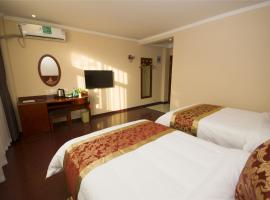 GreenTree Inn TaiZhou New District Hospital of People' s Hospital MingLiu Express Hotel、Taizhouのホテル