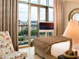 Goralska Résidences Hôtel Paris Bastille, hotel near Chevaleret Metro Station, Paris