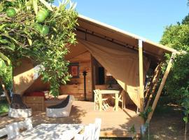 Campo Portakal Eco Glamping, люкс-шатер в городе Чиралы