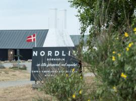 Nordliv, glamping site in Hasle