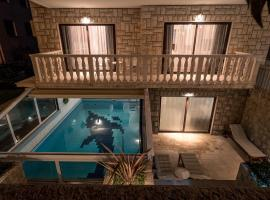 Villa Solis, hotel with jacuzzis in Split