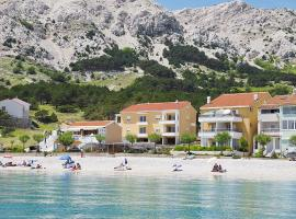 Apartments Capic, budget hotel in Baška