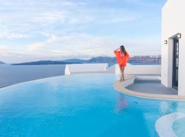 Ambassador Aegean Luxury Hotel & Suites, hotel in Akrotiri