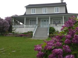 Maison des lilas, hôtel à La Malbaie