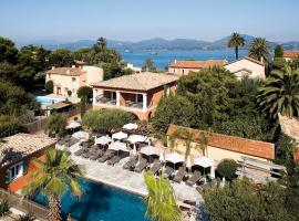 Le Mouillage, hotel with pools in Saint-Tropez