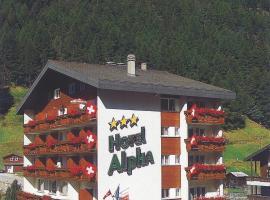 Hotel Alpha, hotel in Saas-Grund