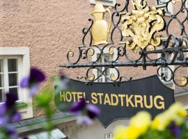 Altstadt Hotel Stadtkrug, hotel Salzburgban