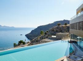 Lindos Blu Luxury Hotel-Adults only, отель в Линдосе