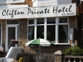 Clifton Private Hotel, hotel near Blackpool Central Library, Blackpool