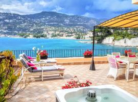 Cap Ferrat Luxury Terrace Sea Front, apartment in Saint-Jean-Cap-Ferrat