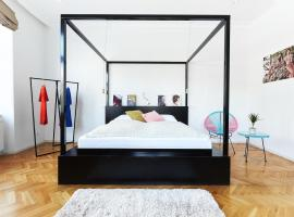 The Magazine Hotel & Apartments: Budapeşte'de bir pansiyon