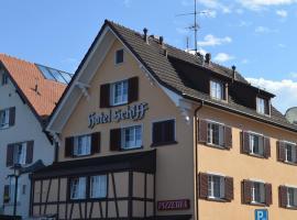 Hotel Schiff, Hotel in der Nähe vom Flughafen St. Gallen-Altenrhein - ACH, Horn